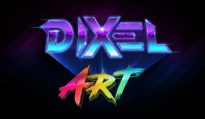 Dixel Art Colored