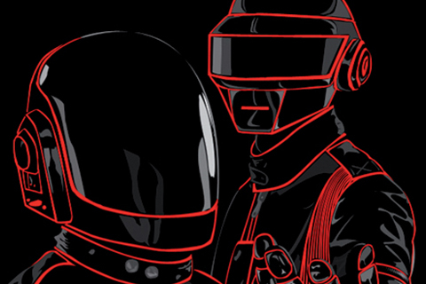 Daft Punk Live Outflits